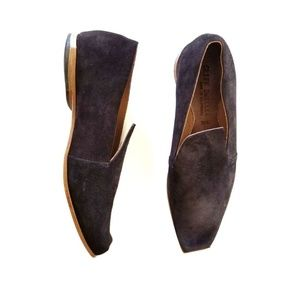 Cydwoq Cliff Dweller Suede Leather Loafers Flats